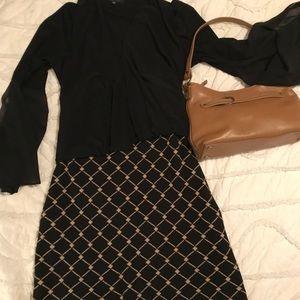 Ann Taylor Sweater Pencil Skirt